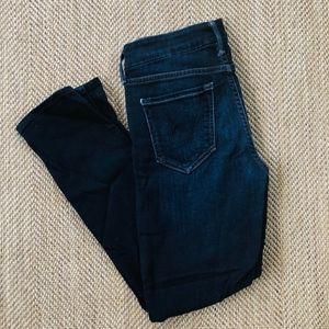 Mother Looker Crop Coffee Tea or Me Jeans, Size 25